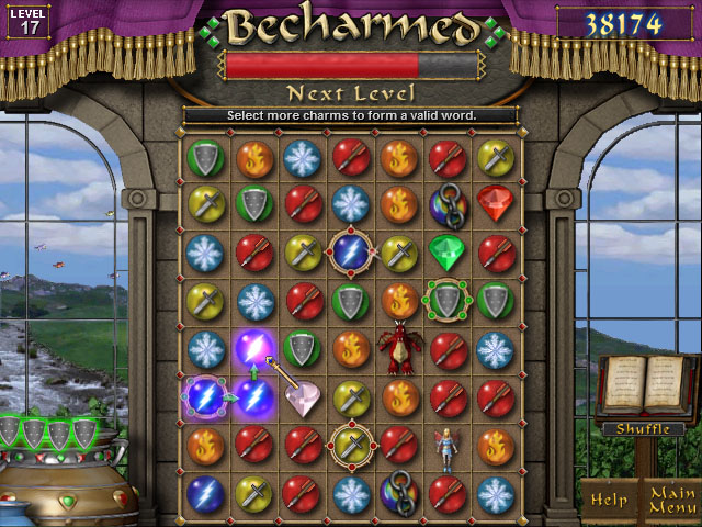Screenshot of Becharmed
