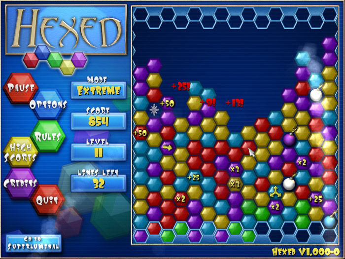 Screenshot of Hexed